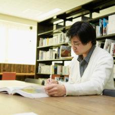 図書室で自習