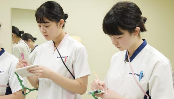 1期生 基礎看護学実習Ⅱ②