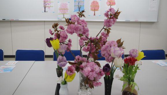 4月赤門まちかど保健室 🌸お花見会🌸