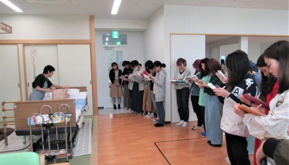 5/29 在宅看護演習(経管栄養)
