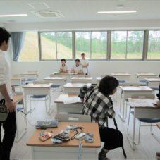 6/19 来年度用学校案内の写真撮影