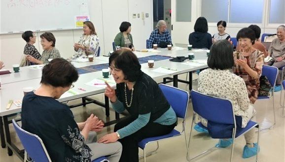 10/4赤門まちかど保健室健康講座を開催しました。