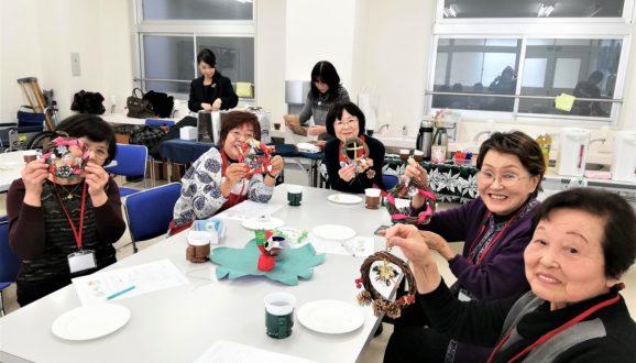 12/6「赤門まちかど保健室の先どりクリスマス会」を開催しました。